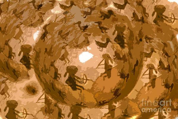 Anasazi Painting - Emergence by David Lee Thompson