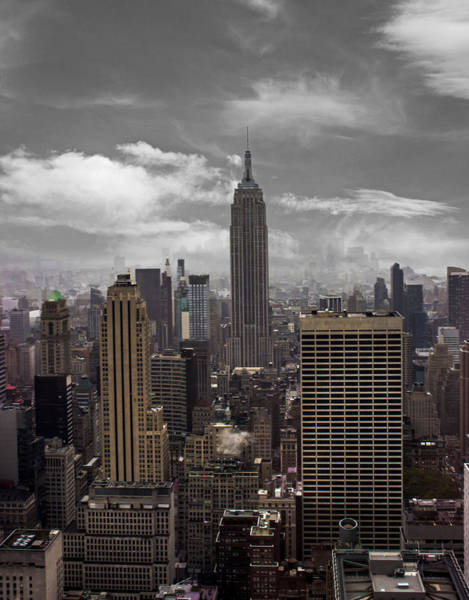 Lady Liberty Photograph - Empire State by Martin Newman