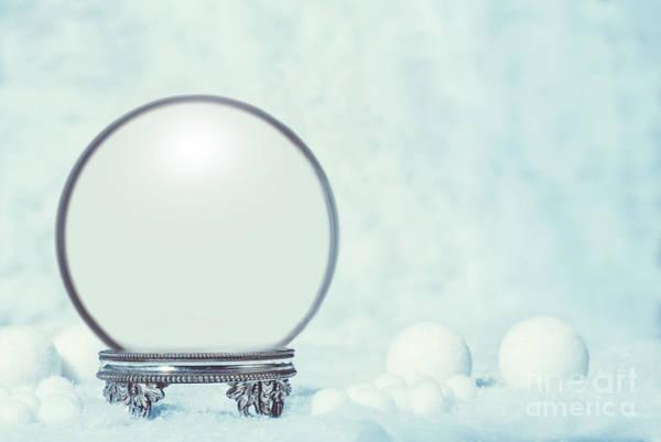 Wall Art - Photograph - Empty Winter Snow Globe by Amanda Elwell