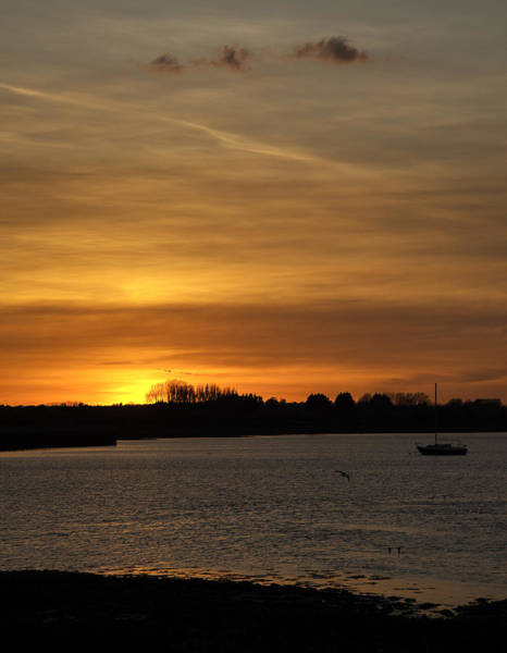 Medway Wall Art - Photograph - End Of The Day by Nigel Jones