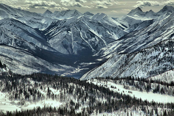 Photograph - Endless Peaks At Sunshine Valley by Adam Jewell