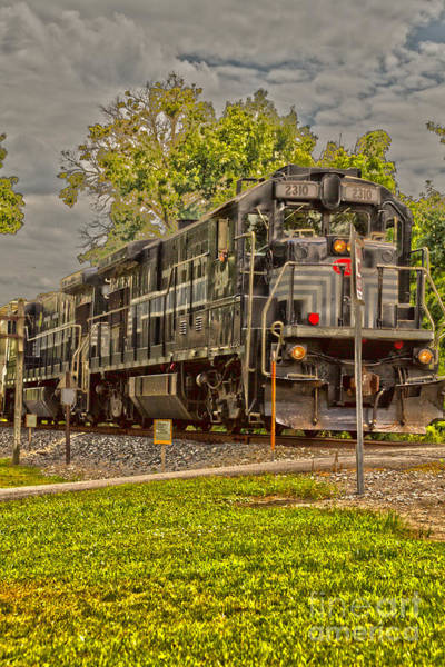 Finger Lakes Railway Photograph - Engine 2310 by William Norton