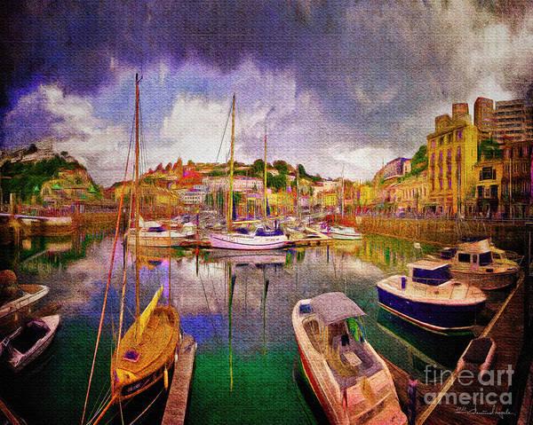 Digital Art - English Riviera by Edmund Nagele