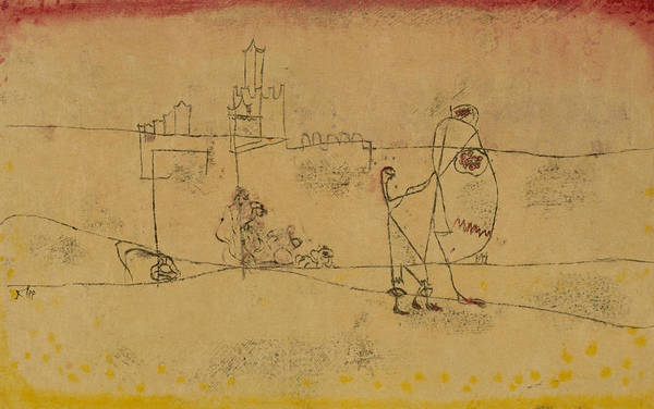 Drawing - Episode At Kairouan by Paul Klee
