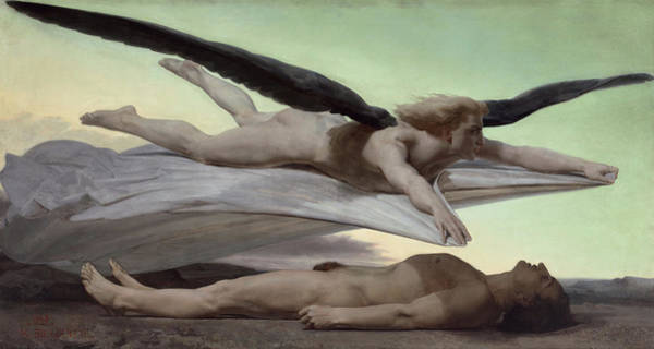 Wall Art - Painting - Equality Before Death by William-Adolphe Bouguereau