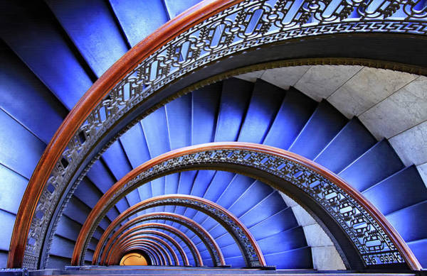 Spiral Wall Art - Photograph - Escape by Iryna Goodall