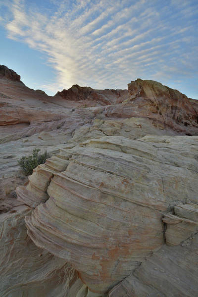 Photograph - Evening Clouds Over Valley Of Fire by Ray Mathis