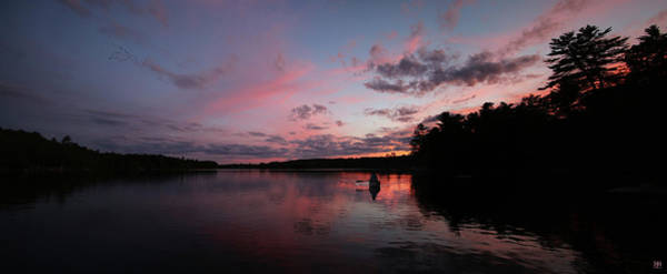 Photograph - Evening Paddle by John Meader