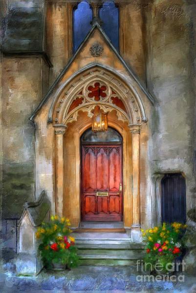 Doorway Digital Art - Evensong by Lois Bryan