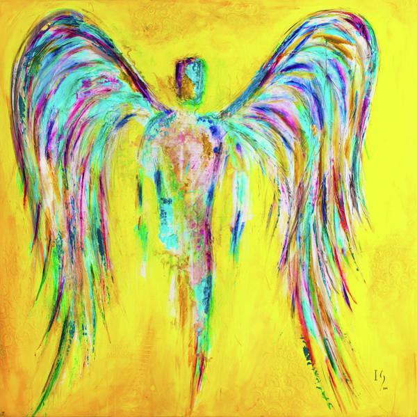 Wall Art - Mixed Media - Expect Miracles by Ivan Guaderrama