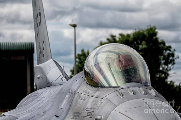 General Dynamics Digital Art - F16 Fighting Falcon by J Biggadike