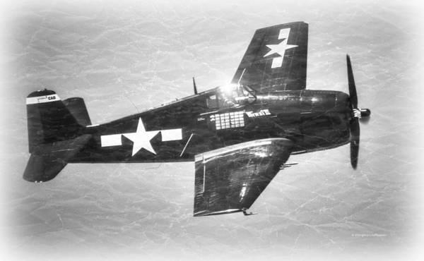 Photograph - F6f Hellcat by Douglas Castleman