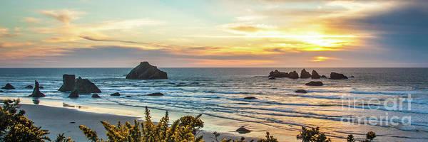 Photograph - Face Rock At Sunset by Jim Adams