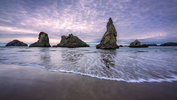 Photograph - Face Rock Beach Sunset by Rick Strobaugh
