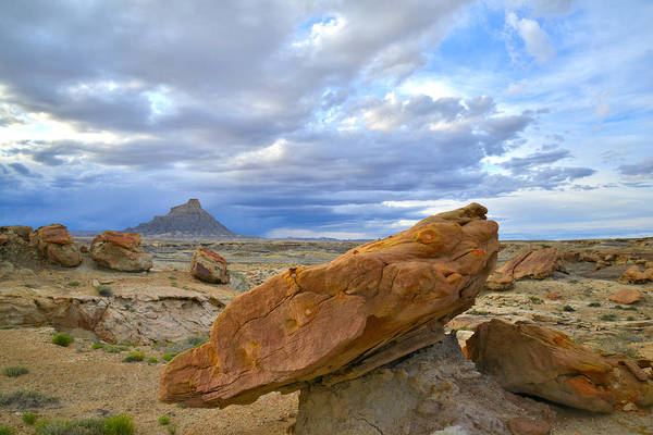 Photograph - Factory Butte - Luna Mesa by Ray Mathis