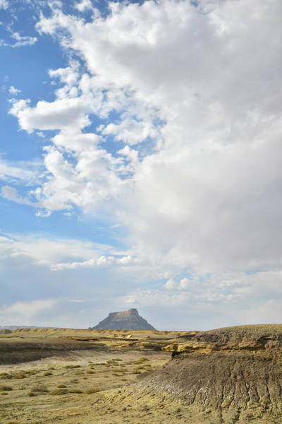 Photograph - Factory Butte Mesa by Ray Mathis