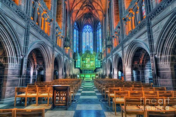 Mixed Media - Faith Hope And Love by Ian Mitchell