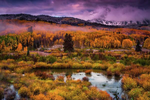 Photograph - Fall Along Kebler by John De Bord