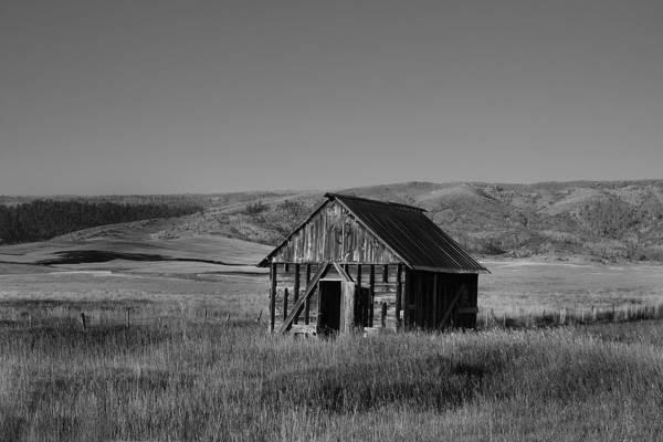 Photograph - Fall Barn by Mark Smith