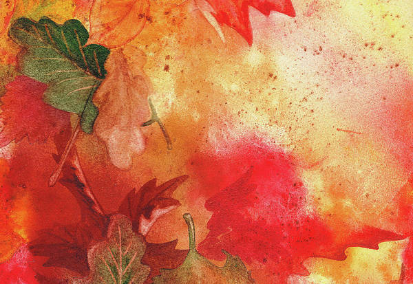 Guest Painting - Fall Impressions by Irina Sztukowski