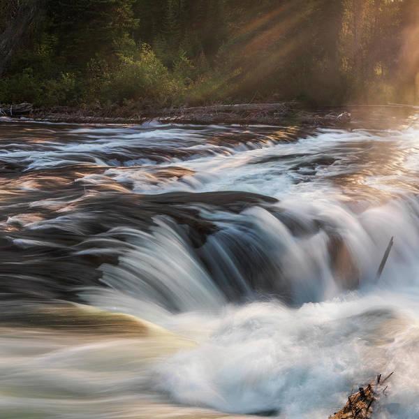 Wall Art - Photograph - Fall River Mist by Leland D Howard