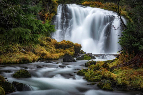 Wall Art - Photograph - Falls Creek by Cat Connor