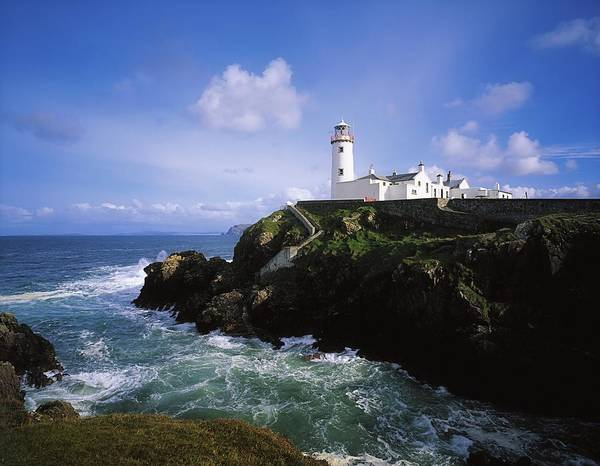 Horizontally Photograph - Fanad Lighthouse, Co Donegal, Ireland by The Irish Image Collection