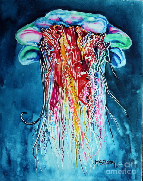 Painting - Fantasia by Maria Barry