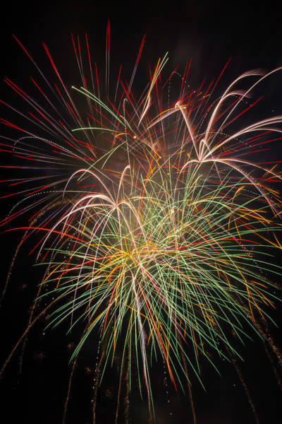 Dazzle Wall Art - Photograph - Fantastic Fireworks by Garry Gay