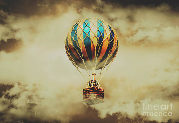 Transport Photograph - Fantasy Flights by Jorgo Photography - Wall Art Gallery