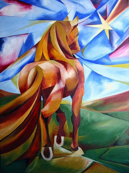 Wall Art - Painting - Far Away by Leyla Munteanu