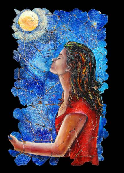 Painting - Farewell 2 by OLena Art - Lena Owens