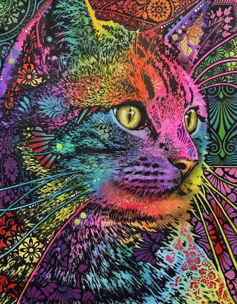 Wall Art - Painting - Felis by Dean Russo Art