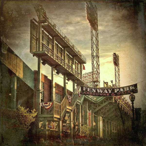 Photograph - Fenway Park - Lansdowne Street - Boston by Joann Vitali