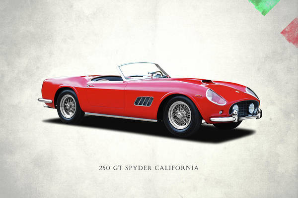 Vintage Ferrari Photograph - Ferrari 250 Gt 1959 by Mark Rogan