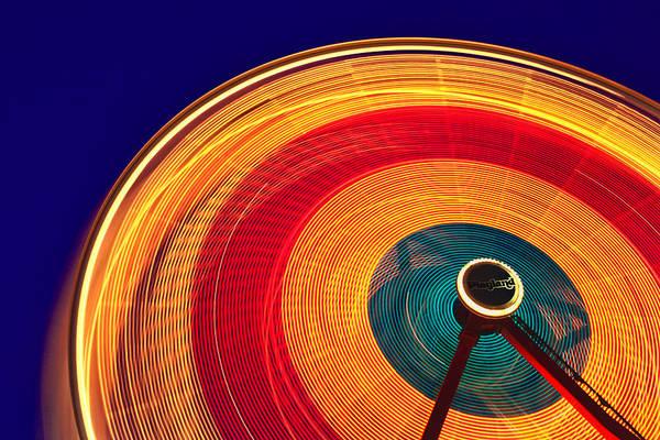 Ferris Wheel Photograph - Ferris Wheel by June Marie Sobrito
