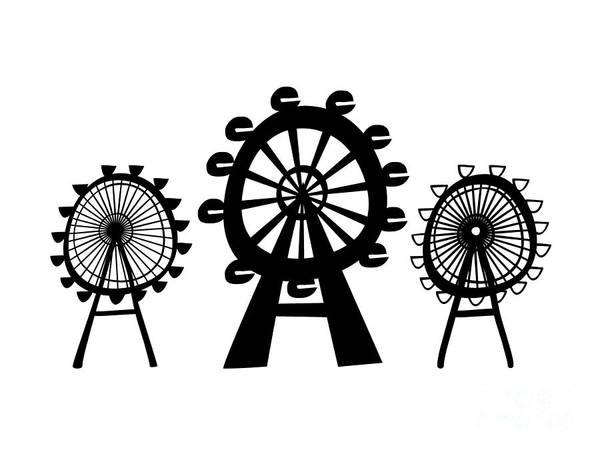 Digital Art - Ferris Wheel by Michal Boubin