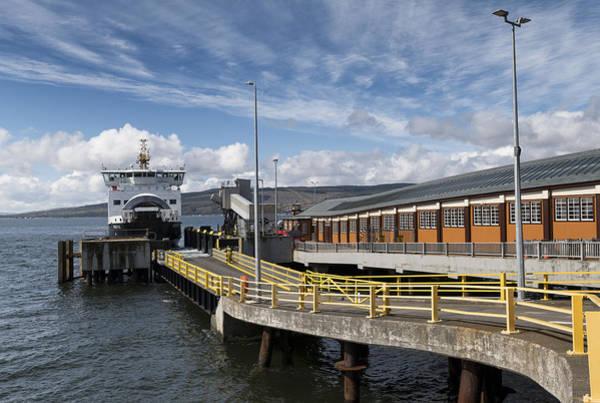 Photograph - Ferry Boat At Wemyss Bay by Jeremy Lavender Photography