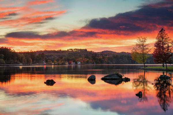 Photograph - Fire In The Sky by Darylann Leonard Photography