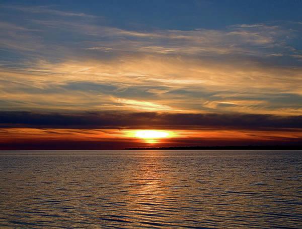 Photograph - Fire Island Sunset by Newwwman