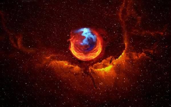 Firefox Digital Art - Firefox by Dorothy Binder