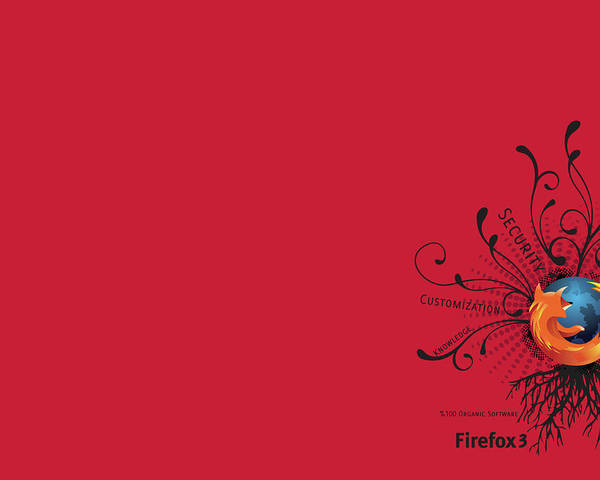 Flower Digital Art - Firefox by Super Lovely