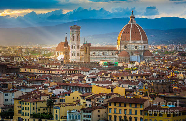 Italy Photograph - Firenze Duomo by Inge Johnsson