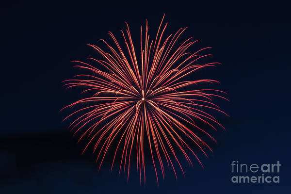 Wall Art - Photograph - Fireworks Abstract by Robert Bales