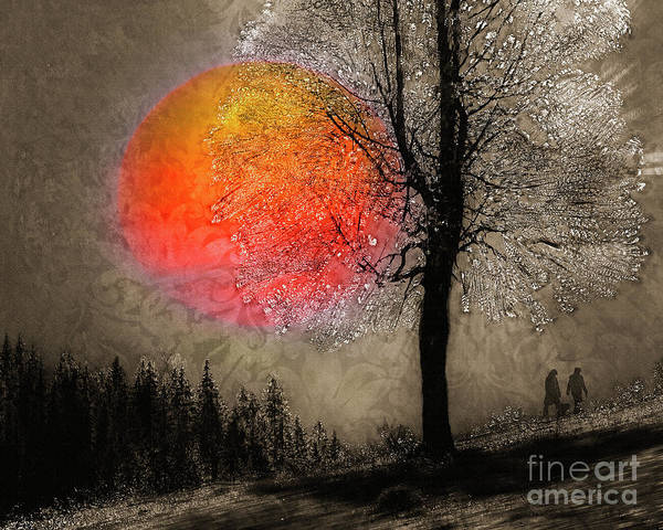 Digital Art - First Light by Edmund Nagele