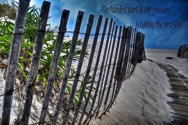 Wall Art - Photograph - First Step by Ryan Crane