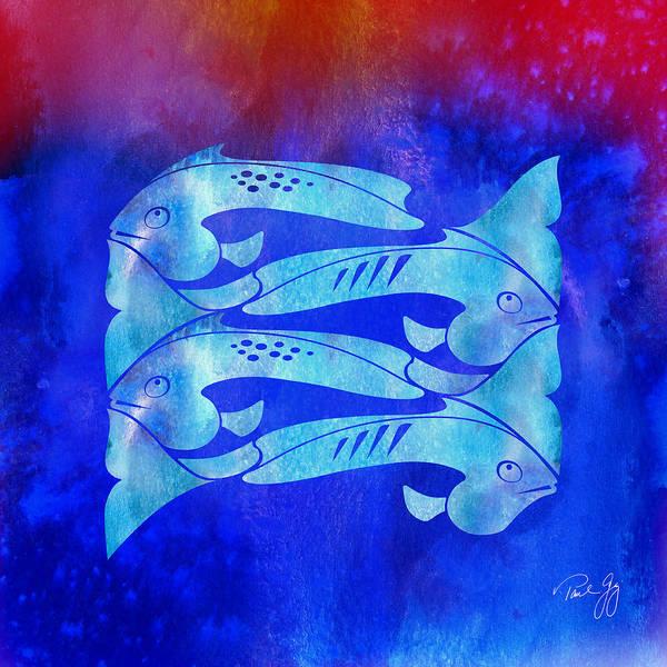 Mixed Media - 1 Fish 2 Fish by Paul Gaj