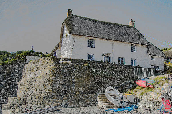 Photograph - Fishermans Cottage by Brian Roscorla