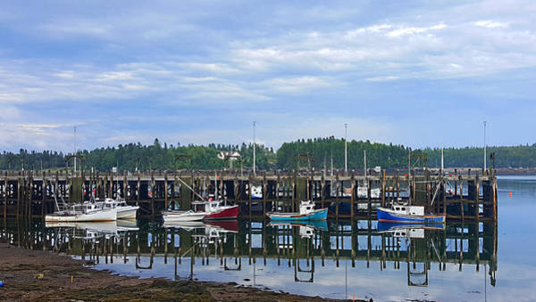 Photograph - Fishing Boats - Beaver Harbour by Michael Graham
