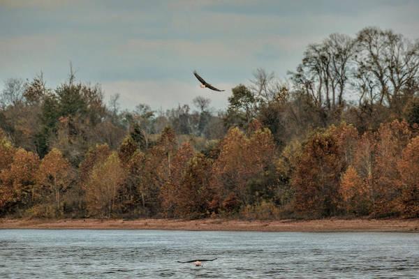 Photograph - Fishing In Autumn by Jai Johnson